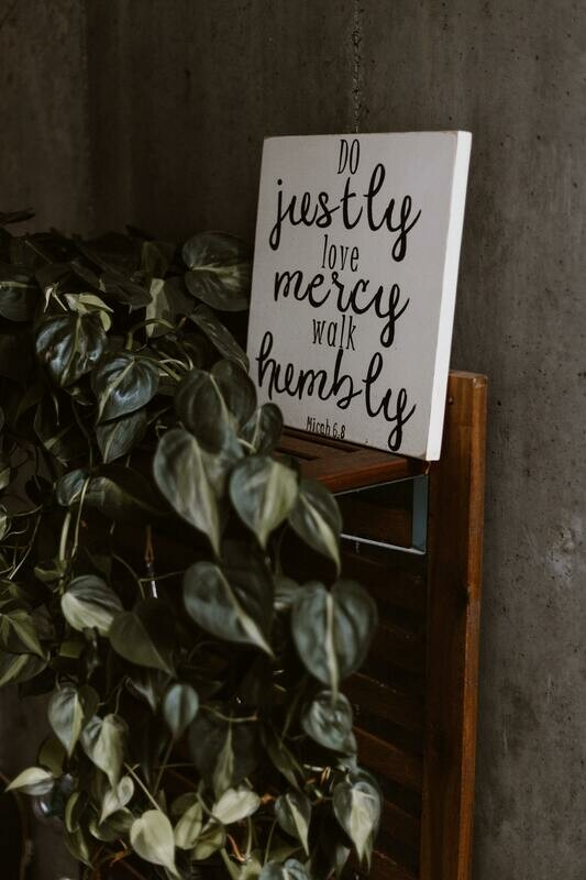 Digital Wallpaper- love mercy