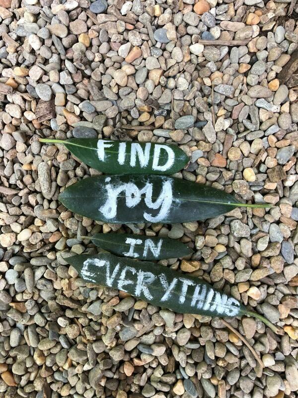 Digital Wallpaper- find joy in everything