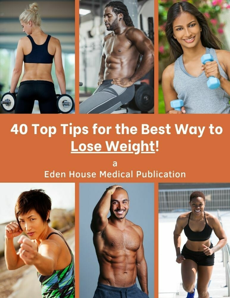 40 TOP TIPS FOR LOSING WEIGHT!