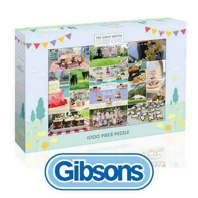 The Great British Bake Off 1000 piece Jigsaw Puzzle