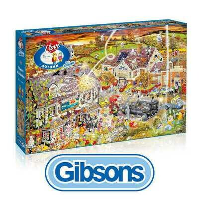 Gibsons I love Autumn 1000 piece Jigsaw Puzzle