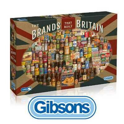 The Brands that Built Britain 1000 piece Jigsaw Puzzle