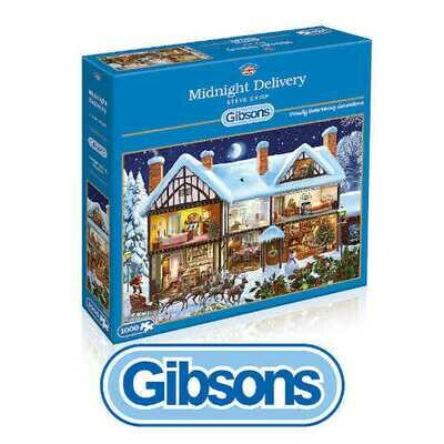 Gibson Midnight Delivery 1000 piece Jigsaw Puzzle