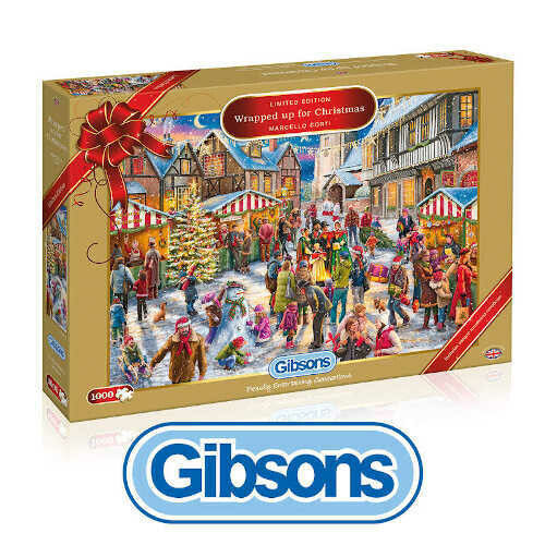 Wrapped up for Christmas 1000 piece Jigsaw Puzzle