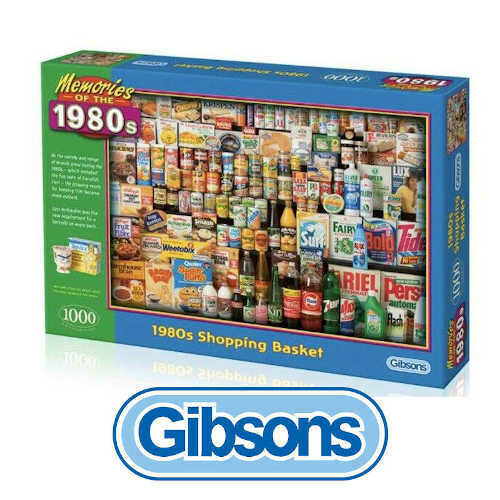 Gibsons Memories of the 1980's Shopping Basket