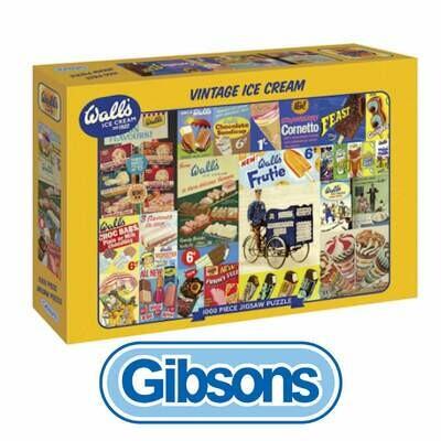 Vintage Ice Cream 1000 piece Jigsaw Puzzle