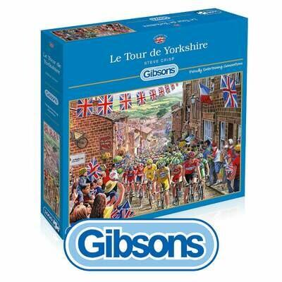 Le Tour de Yorkshire Gibsons 1000 piece Jigsaw Puzzle