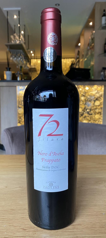 72 filara Nero d'Avola Frappato (Sicilia) Rouge