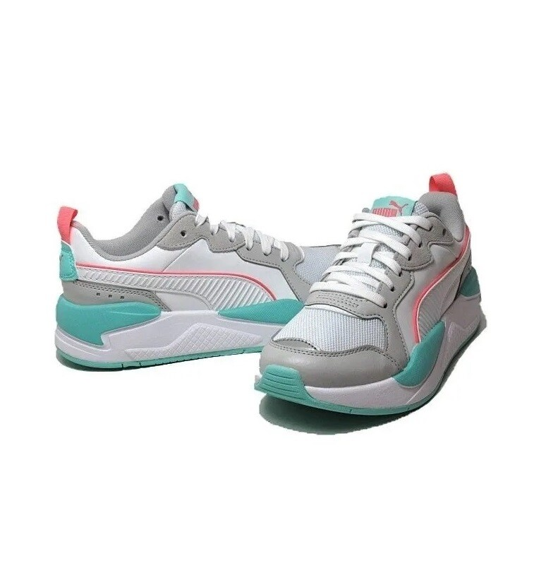 X-ray game sneakers - puma white / grey / blue / rose