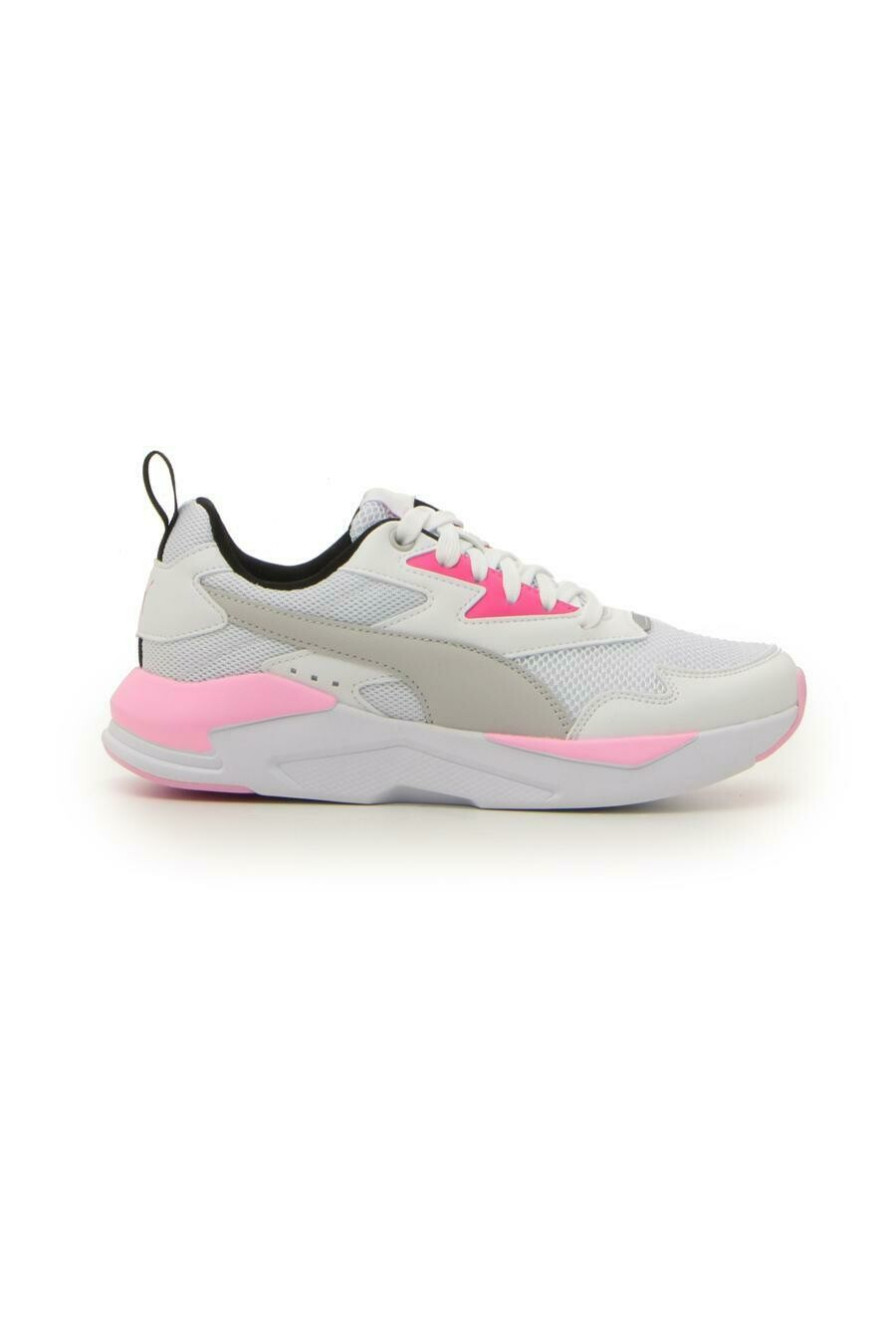 X-Ray Lite Jr Puma White-Gray Violet-Glo