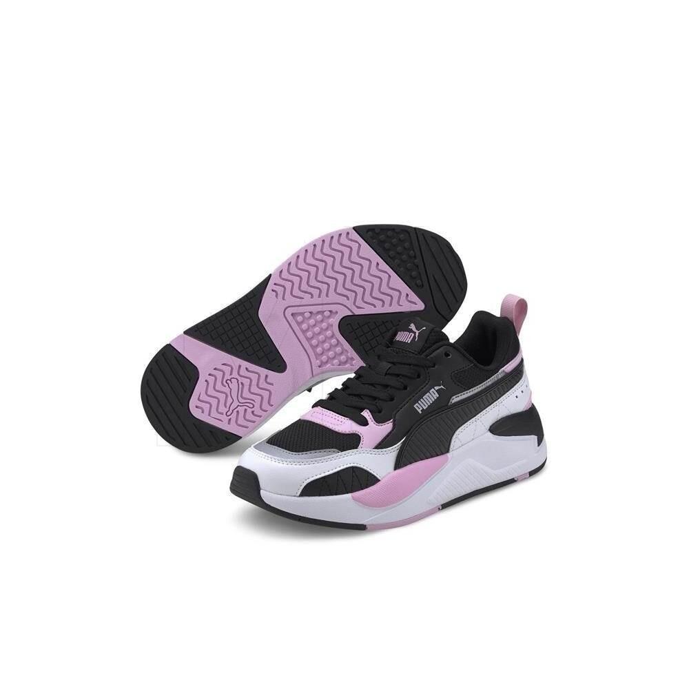 X-Ray 2 Square Jr Puma Black-Pink-White