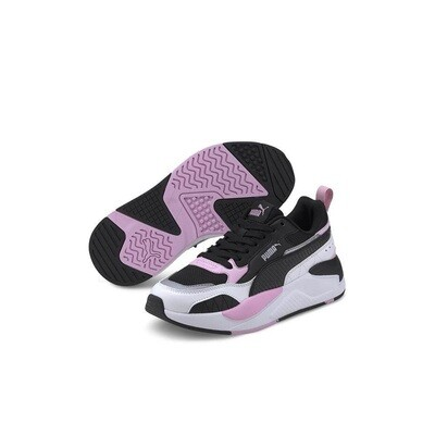 X-Ray 2 Square Jr Puma Black-Pink-White