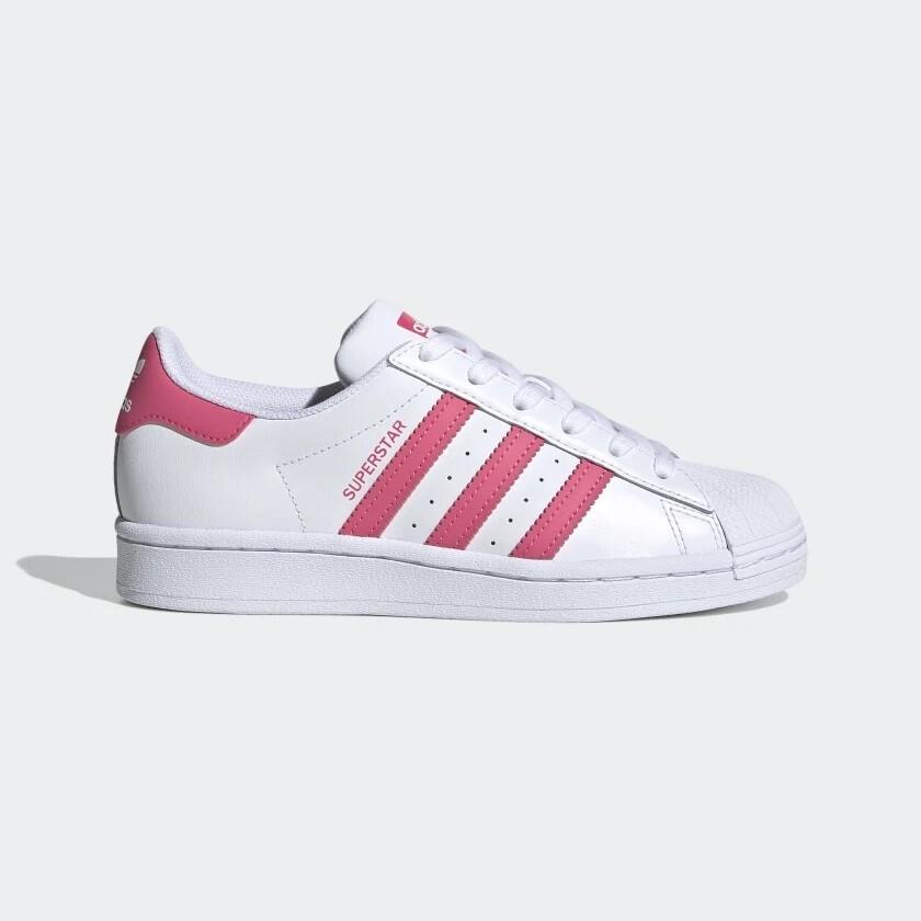 Adidas Superstar  Blanc / Rose