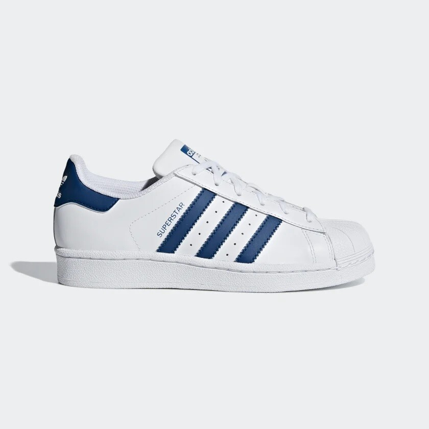 Adidas Superstar  Cloud White / Cloud White / Legend Marine