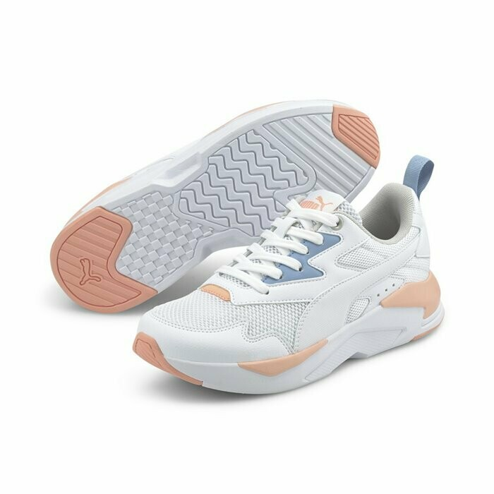 X-Ray Lite Jr Puma White-Puma White-Fore-37439309