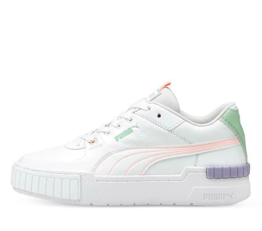 Puma White/Elektro Peach/Mist Green/Light Lavender - 37505101