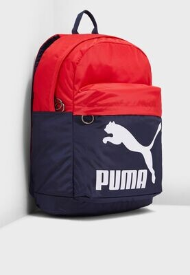 Sac à Dos PUMA Originals Backpack Peacoat-High Risk Red