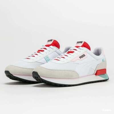 Future Rider Neon Puma White/Poppy Red-37338309
