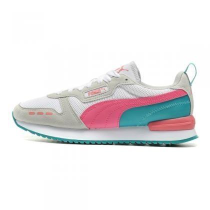 PUMA R78 Puma White-Glowing Pink-Gray Vi-37311712