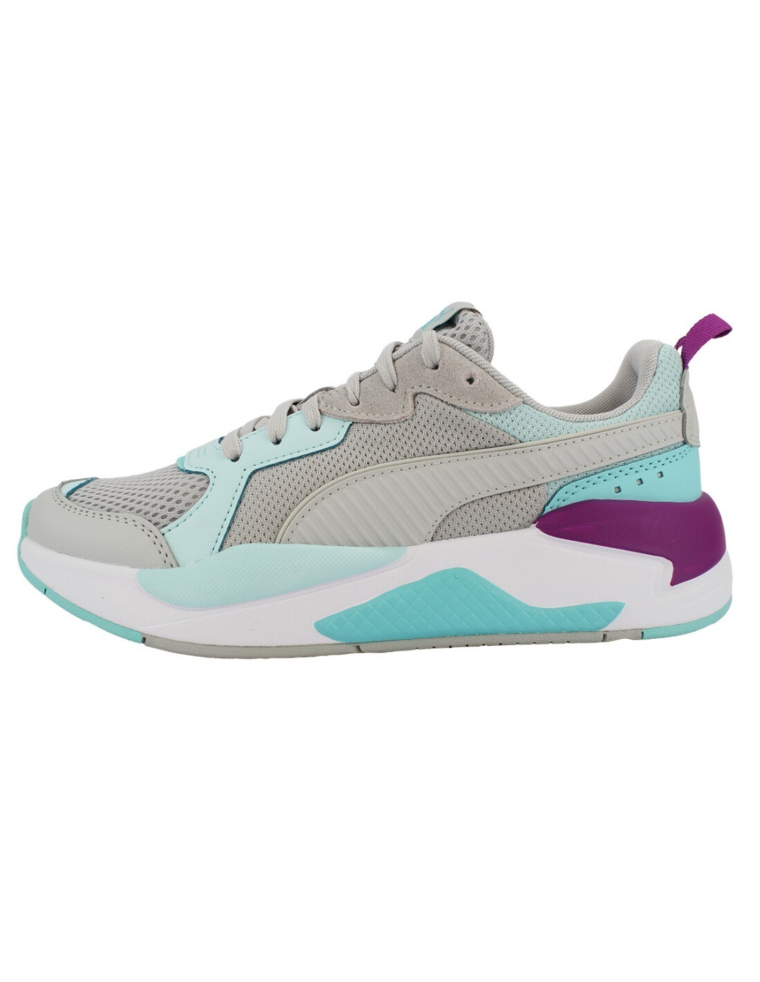 X-ray game sneakers - puma white / grey / blue / violet-37260231