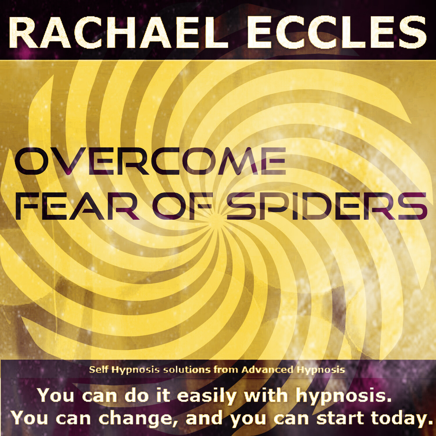 Overcome Fear of Spiders Hypnosis CD, Arachnophobia Hypnotherapy