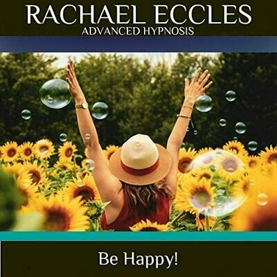 Be Happy Hypnotherapy to Increase Happiness & Contentment, Hypnosis Download or CD