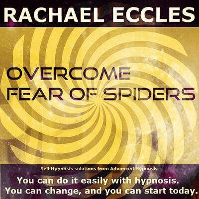 Overcome Fear of Spiders Arachnophobia Hypnotherapy Phobia Treatment Hypnosis Download or CD