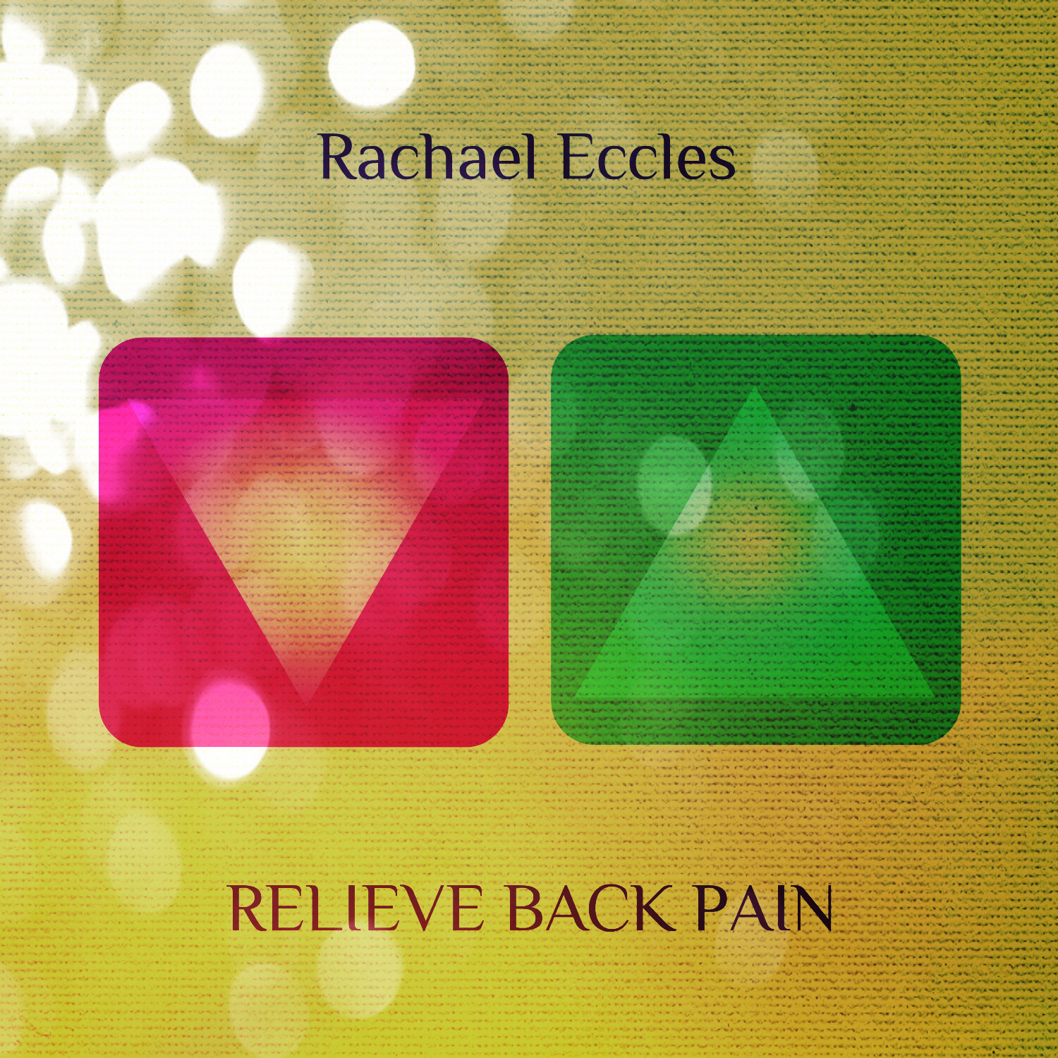 Relieve Back Pain, Pain Relief, Pain Management Hypnotherapy Self Hypnosis MP3 Download or CD