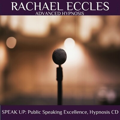 Public Speaking Confidence Hypnotherapy Develop Supreme Confidence When Giving a Presentation or Speech, Hypnosis CD