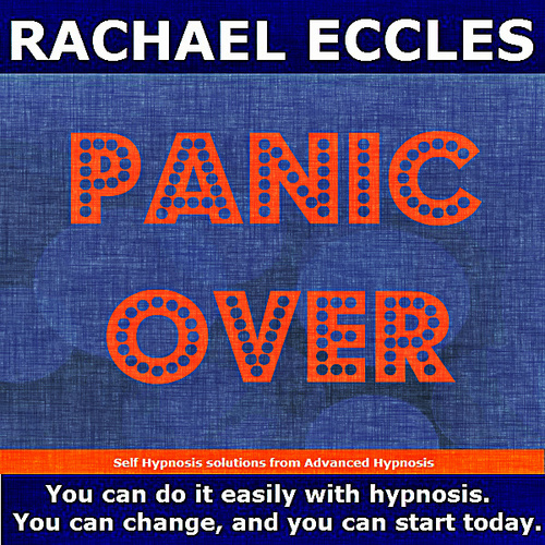 Panic Over: Stop Panic Attacks, Treatment for Anxiety Attacks,  Hypnotherapy Hypnosis Download or CD