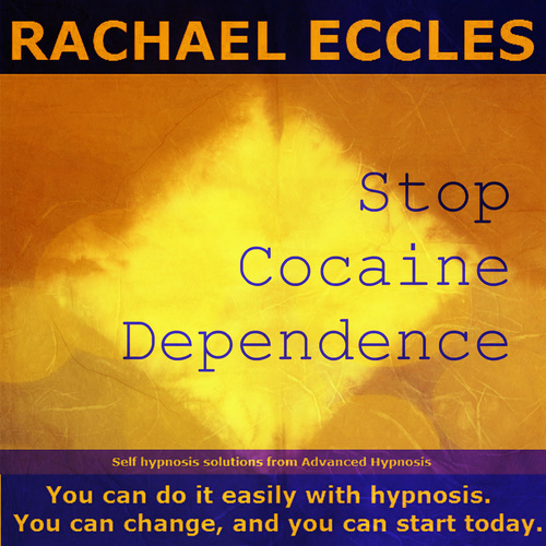 Stop Cocaine Dependence, Self Hypnosis Hypnotherapy MP3 Download or CD