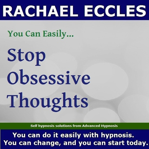 Stop Obsessive Thoughts  3 Track Hypnotherapy Self Hypnosis CD