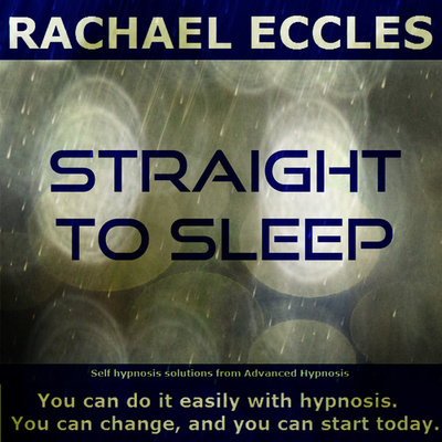 Straight to Sleep Hypnotherapy for Sleep Problems Insomnia, Hypnosis Download or Hypnosis CD