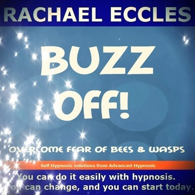 Overcome Fear and Phobia of Bees & Wasps, Spheksophobia,  melissophobia Hypnotherapy Hypnosis Download or CD