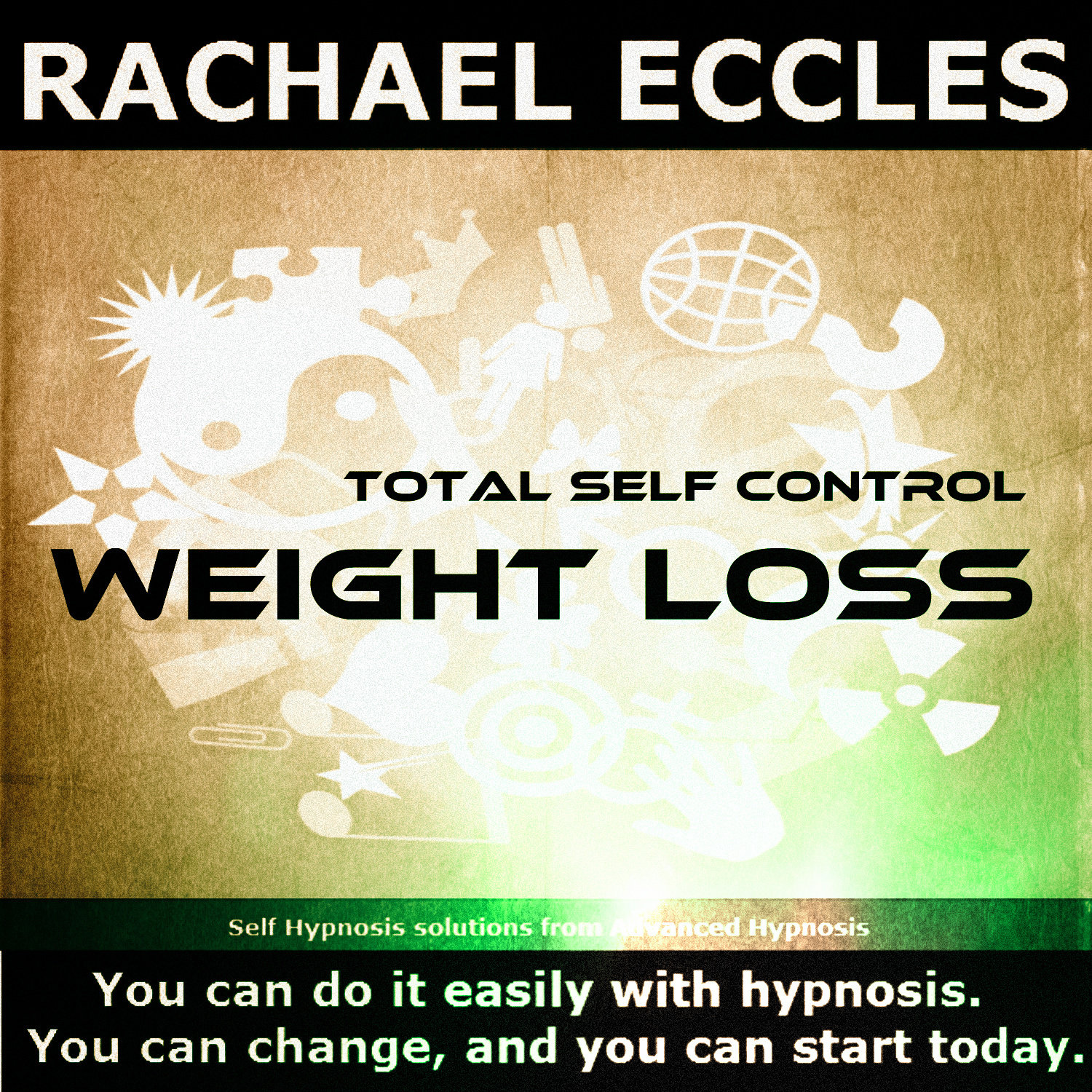 Total Self Control Weight Loss Three Track Self Hypnosis CD