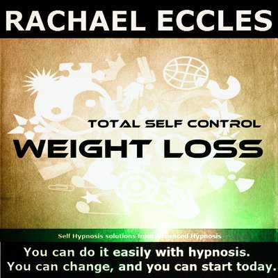 Total Self Control Weight Loss Hypnotherapy to Lose Weight,  Hypnosis Download or CD