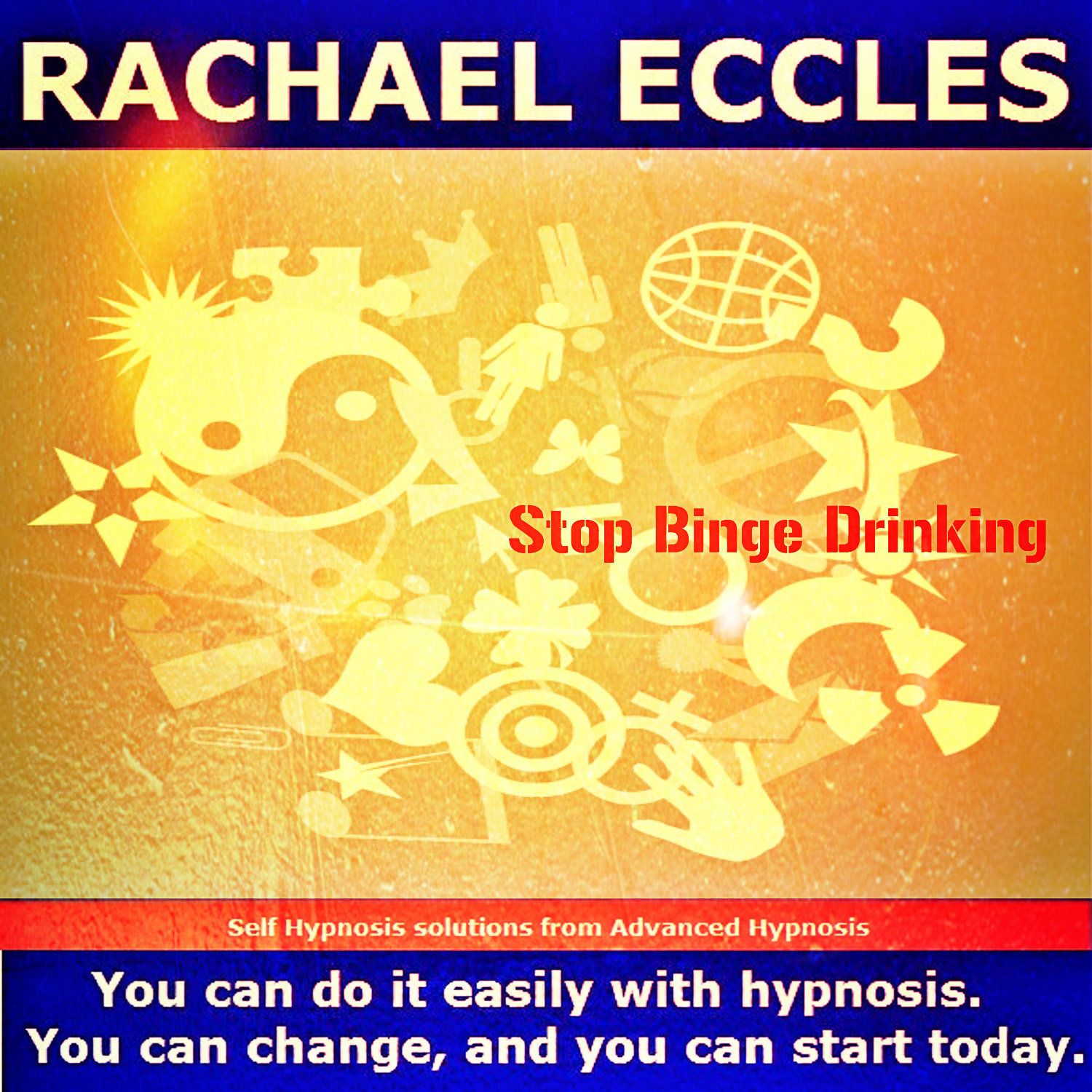 Stop Binge Drinking Hypnotherapy self hypnosis CD
