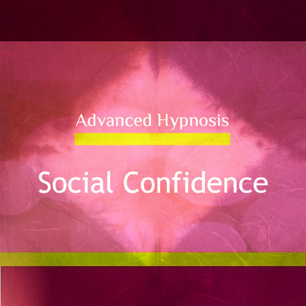 Develop Your Social Confidence, Feel Confident Socially, Hypnotherapy Hypnosis Download or CD