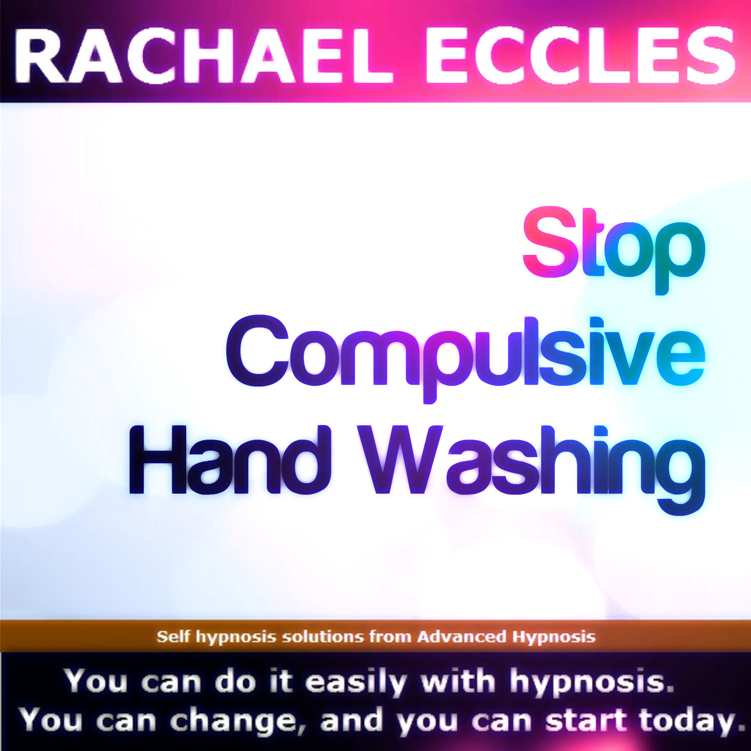 Stop Excessive Compulsive Hand Washing Hypnotherapy Self Hypnosis MP3 Download or CD