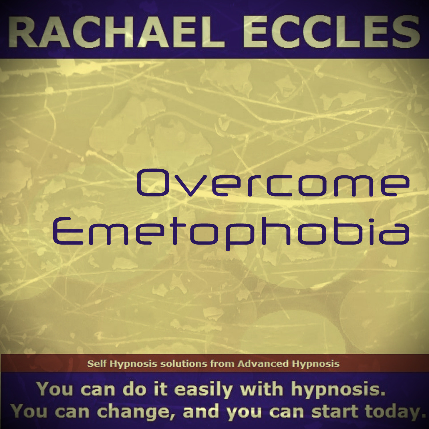 Overcome Emetophobia, Self Hypnosis, Hypnotherapy CD