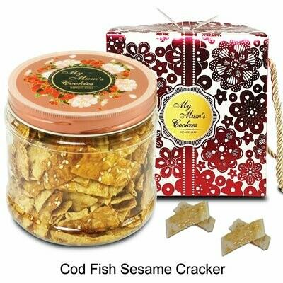COD FISH SESAME CRACKERS 鳕鱼芝麻香酥片