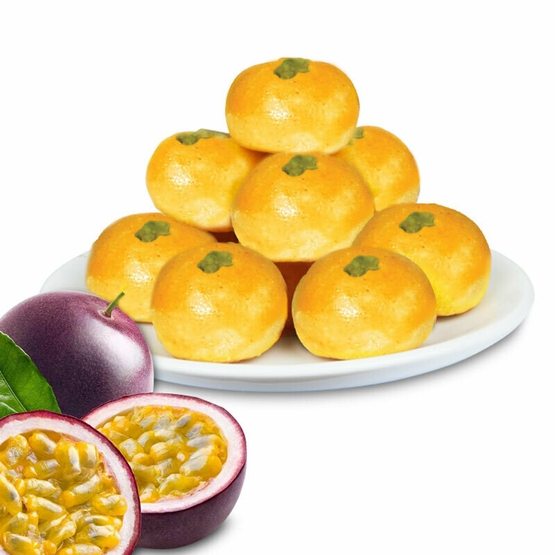 PASSION FRUIT PINEAPPLE BALLS (New! Must Try!) 百香凤梨酥