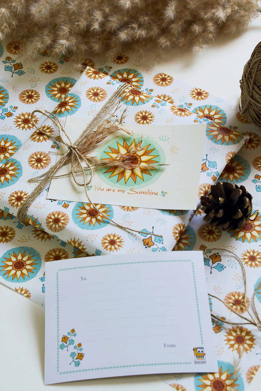 SUNFLOWER WRAPPING