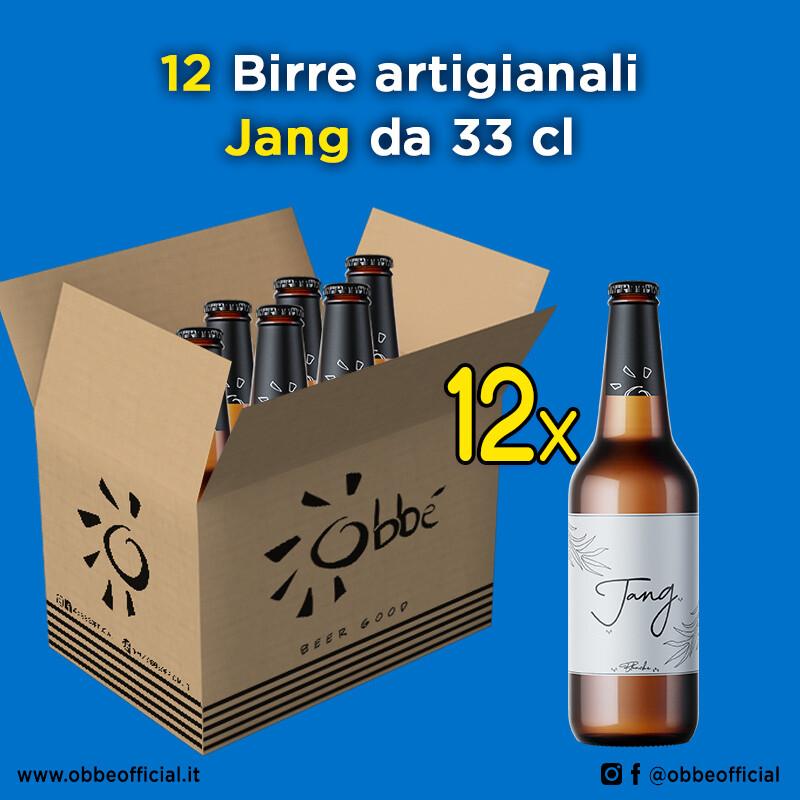 12 x Birra Jang 33 cl
