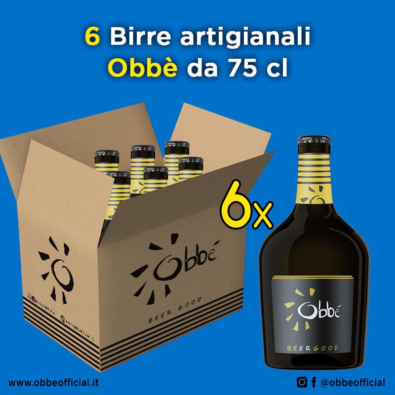 6 x Birra Obbè 75 cl