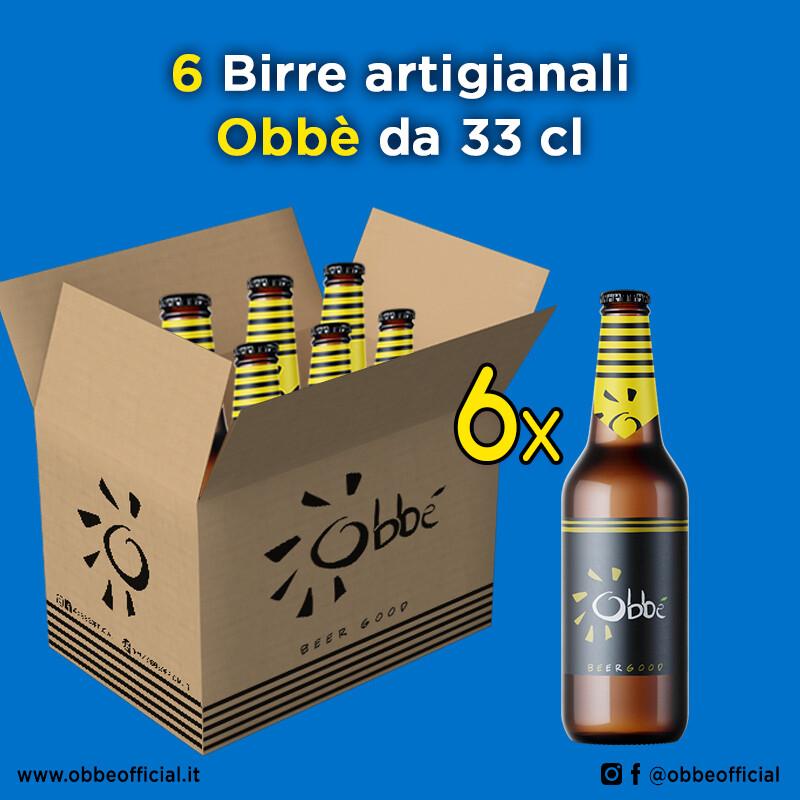 6 x Birra Obbè 33 cl
