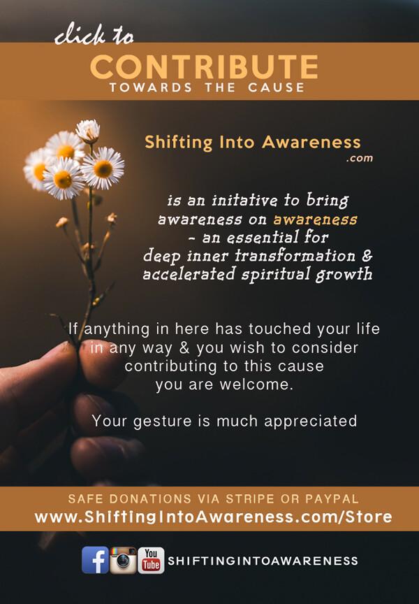 DONATE for Shifting Into Awareness