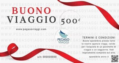 Buono Viaggio da € 500