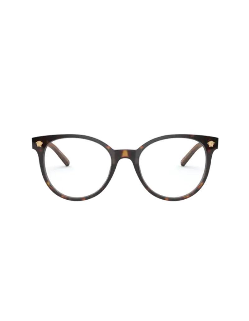 Versace occhiali da vista da donna VE3291 / 108 Colore Havana