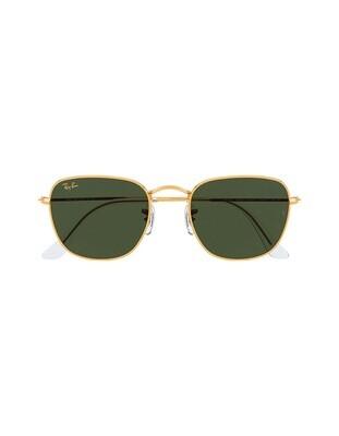 Ray-Ban Frank occhiali da sole RB3857 / 919631 Colore oro - verde